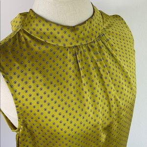 Vince Camuto green blouse, size small